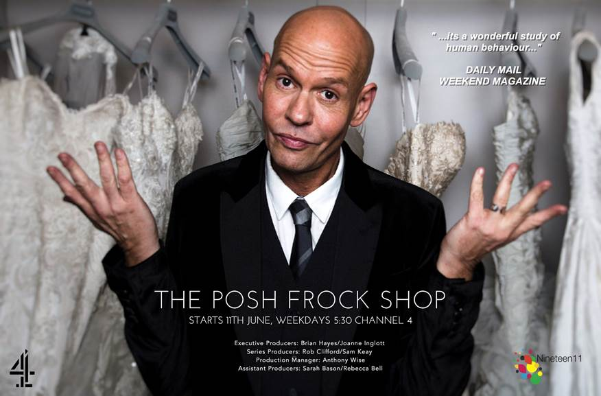 Channel 4 New Series // Ian Stuart & The Posh Frock Shop