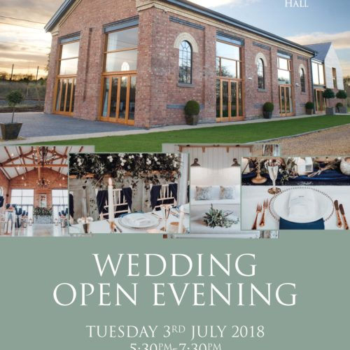 Venue Open Evening // The Carriage Hall In Nottingham