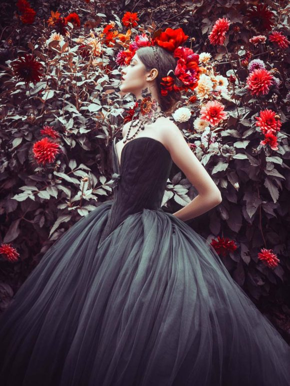 Mystic Autumn – Couture Bridal By Chantal Mallet | Magic Owen Photography