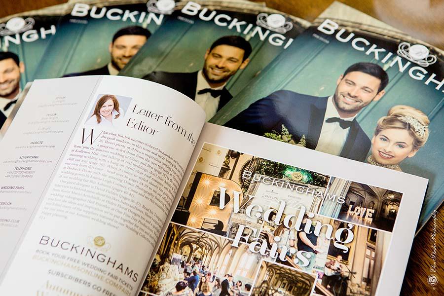 Buckinghams Wedding Magazine - Elen Studio Photography