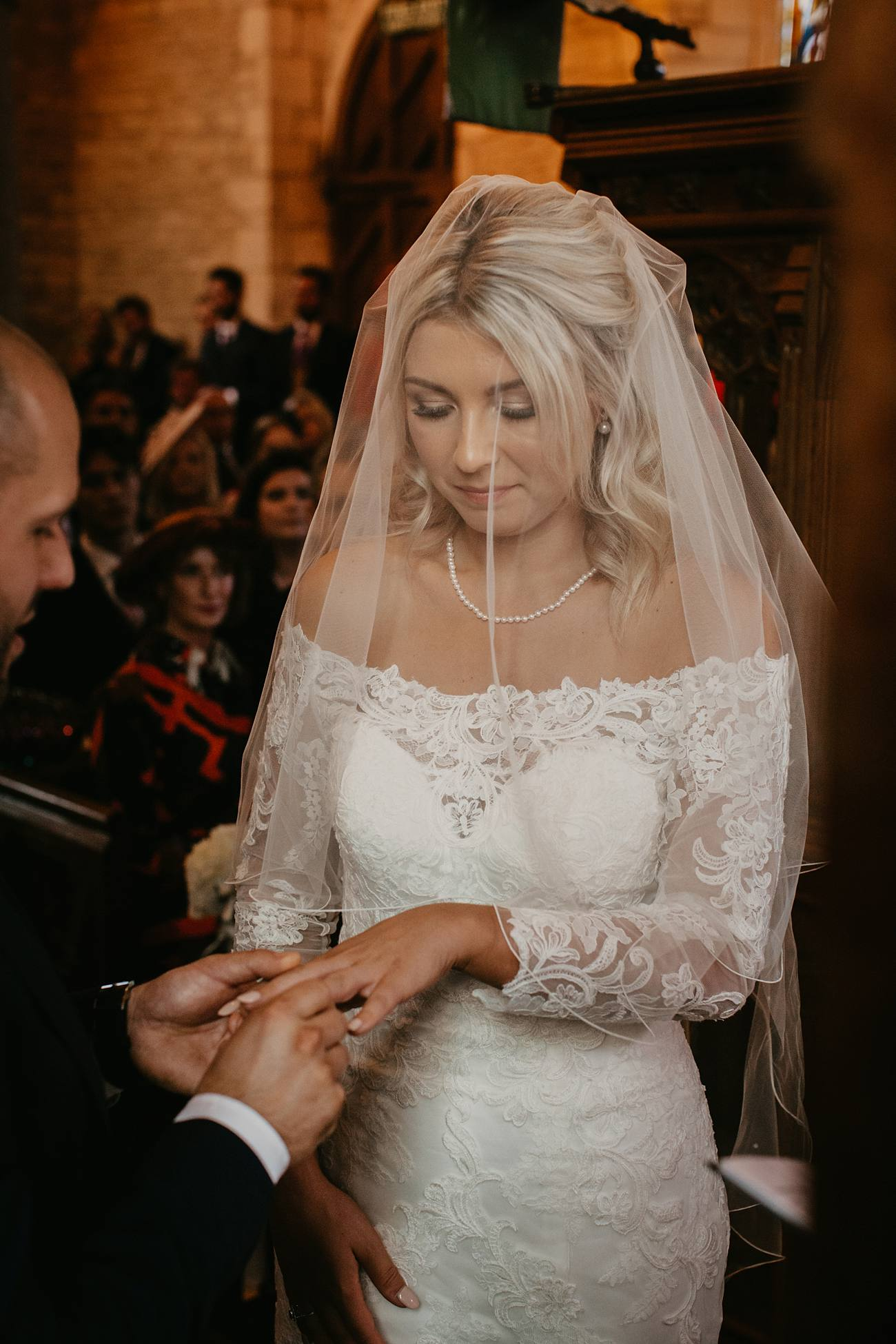 bride getting married