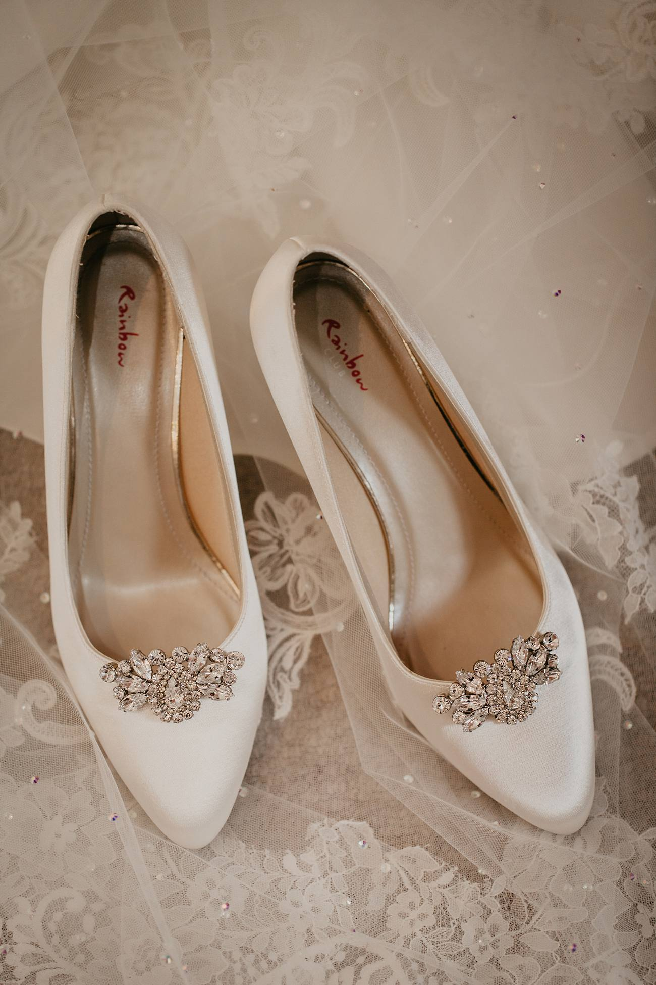 bridal shoes by rainbow