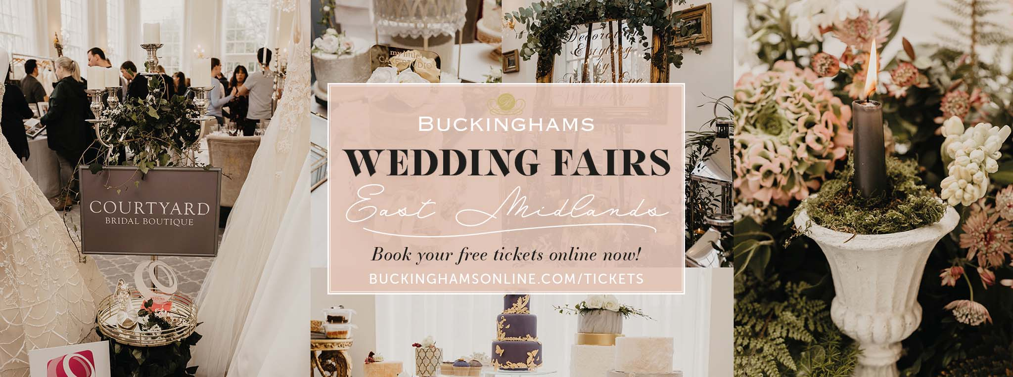 Wedding fairs in the East Midlands